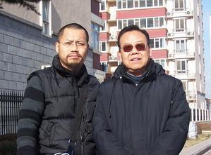 2008年,我院副院長古一雄與我院名譽顧問張森洲先生。