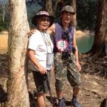 朱東明先生與夫人