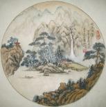 張森洲山水