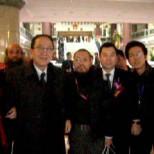 我院古一雄與劉吉部長在全國人大會議中心
