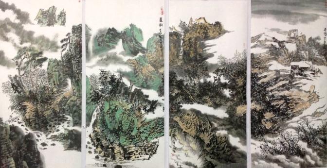 HK中國禪林畫院名家推薦
