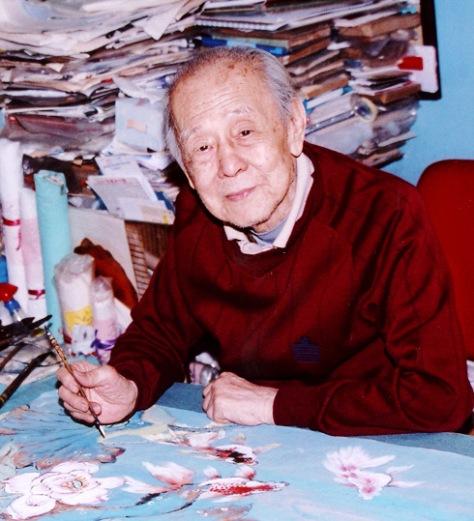 趙世光先生/黃耀光攝于2006年